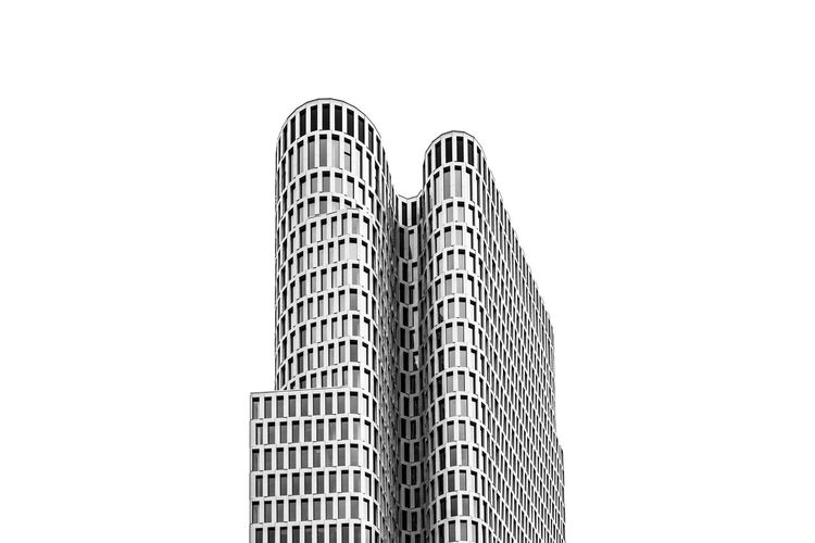 DOUBLE. FILIPPI GIULIA PHOTOGRAPHY. All rights reserved. Architecture Berlin City Modern Blackandwhite Building Building Exterior Built Structure Cityscape Day Geometric Shape Germany Glass Light And Shadow Minimal Minimalism Outdoors Photographer Photography Photooftheday Sky Skyscraper Urban Urban Skyline Window