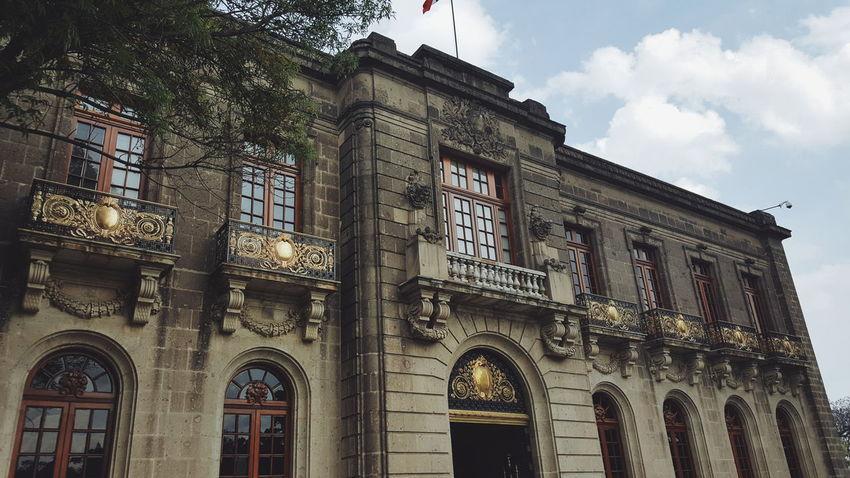 Chapultepec Castle Mexico Builings Vintage