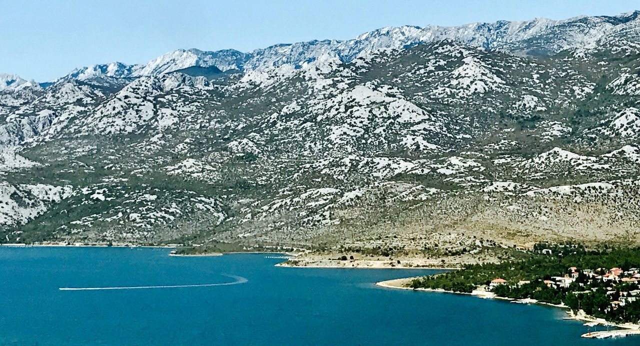 Croatian coast Mountain Beauty In Nature Mountain Range Nature Day Scenics Tranquility Outdoors No People Tranquil Scene Landscape Blue Tree Sky Travel Destinations Tranquility Eyevision. Nature EyeEm Selects Idyllic Horizon Over Water Water Beautiful Nature Postcode Postcards