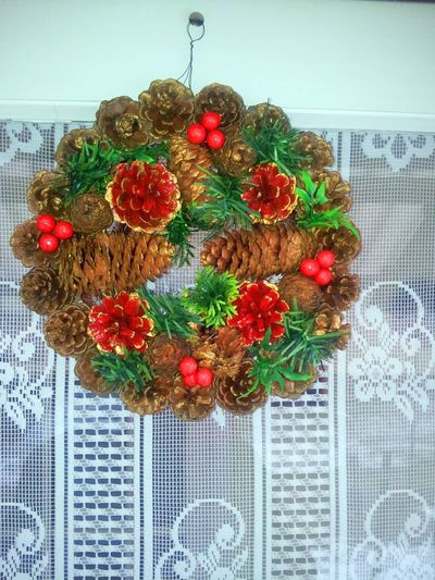 Advent wreath Close-up Day Flower Food Freshness Fruit Hanging Healthy Eating Multi Colored No People Red Variation