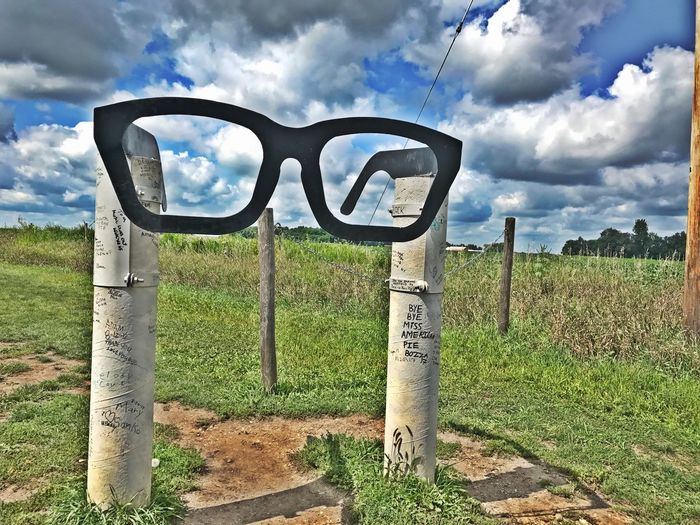 Richie Valens Music Music Photography  Iowa Iowa Buddy Holly Sky Day Field No People Beauty In Nature Scenics Nature Grass