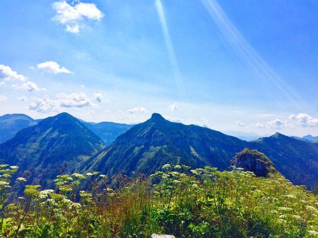 Der Himmel auf Erden Beautiful Nature Mountain EyeEm Selects Scenics - Nature Sky Plant Tranquil Scene Landscape First Eyeem Photo