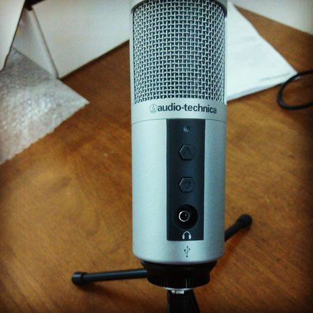 Tuning up..! :p Audio Technica ATR2500 ..! YouTube Mode ON..! Youtube Audio Audiotechnica
