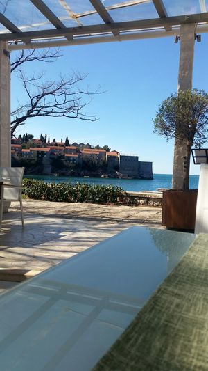 nofilter Morning Morninglikethis Good Morning Coffe Sunny Day Now Beautiful View Amazing Place SanStefano Montenegro