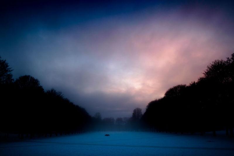 I grew up here Norway Oslo Twilight Cold Temperature Landscape No People Scenics Snow Tranquil Scene Winter