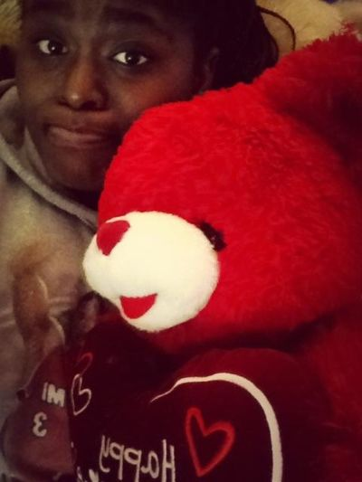 Me and my boo Red Bout to take a nap