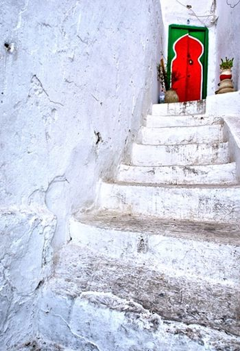Mytunisia Traveling Architecture Colors Old House Doors Stairs