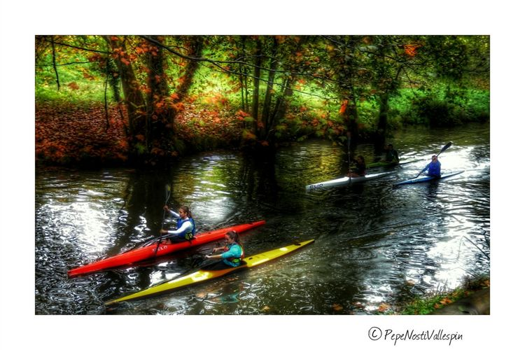 River Life Canoe Kayak Autumnbeauty Autumn🍁🍁🍁 Sport Motivation Autumn Colours Autumn Leaves