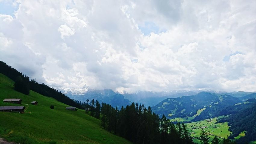 Beyond the Clouds And Sky Lenk Simmental Switzerland