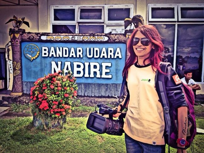 Nabire, Papua, covering documentary Documentary Journalist Papua Nabire Televisionproducer Televisionprogram So Beautiful Indonesia INDONESIA EyeEm Indonesia Hello World