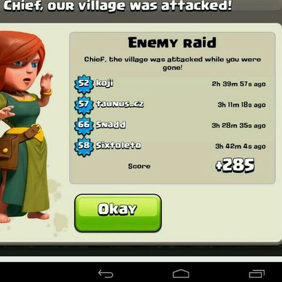 clash of clans Strong Defence