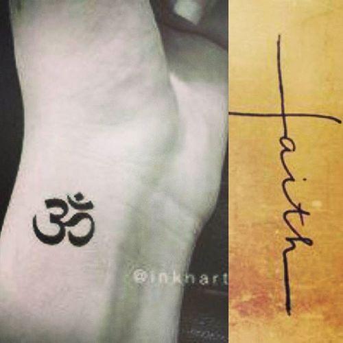 On my wrist soon... Omkara Faith Minimalisttattoo Wristtattoo