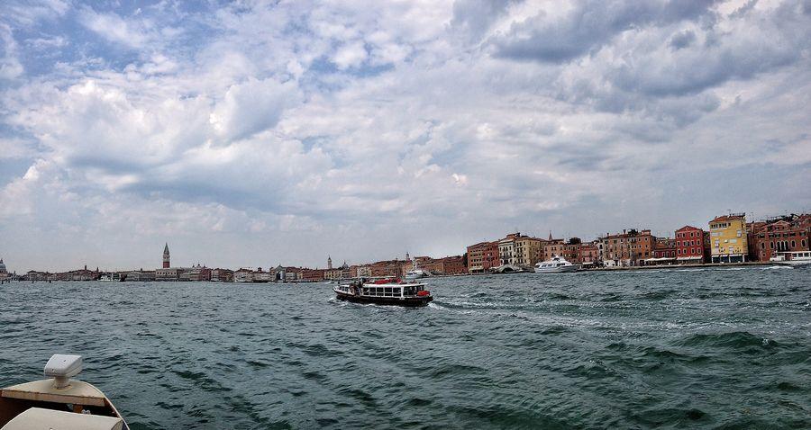 Navigando in laguna Venezia Venice Panorama Panoramashot IPhoneography