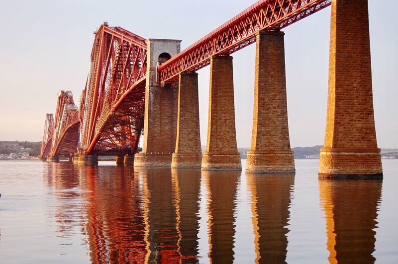 Bridge - Man Made Structure Connection Architecture Engineering Built Structure Transportation Travel Destinations Water Viajando City Travel Tourist Viaje Viajar Escocia Edimburgh Edimburgo Tourism Forth Bridge Forth Bridges