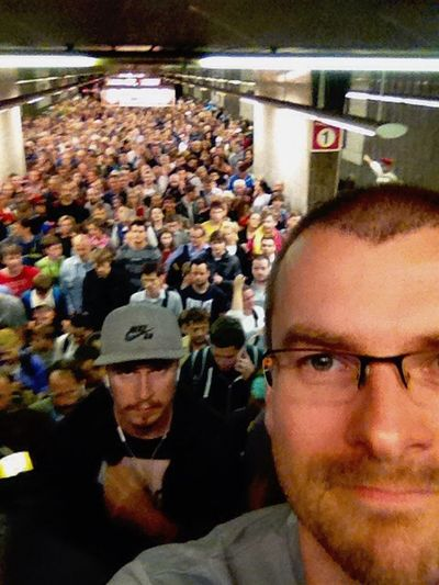 Prague subway collapse accident First Eyeem Photo