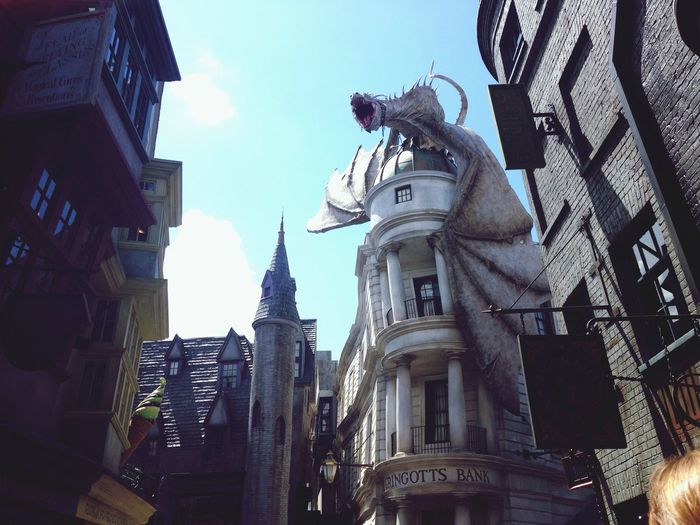 Diagon Alley is very nice