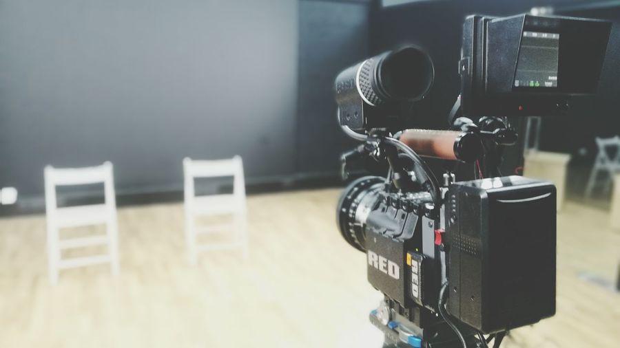 Studio Red Camera Film Camera Filmset Film Making Shooting Acting... MOVIE EyeEm Selects Indoors