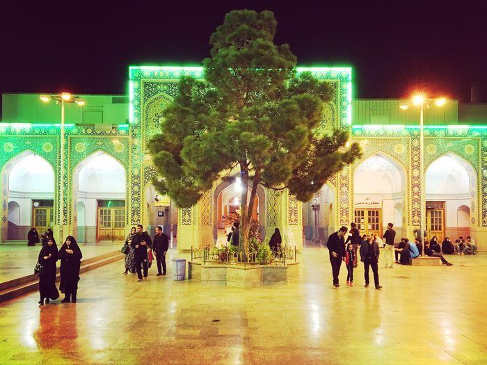 Andolazim Holy Shrine, Rey, Tehran, 2016