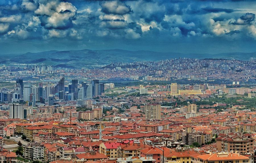 Cloud - Sky Sky Cityscape Full Frame Backgrounds No People Aerial View Outdoors Day Scenics Nature City Multi Colored Architecture Building Exterior Close-up Pixelated Dikmen Ankara Cankaya Manzara Nature Streetphotography Flower Red AI Now EyeEm Ready