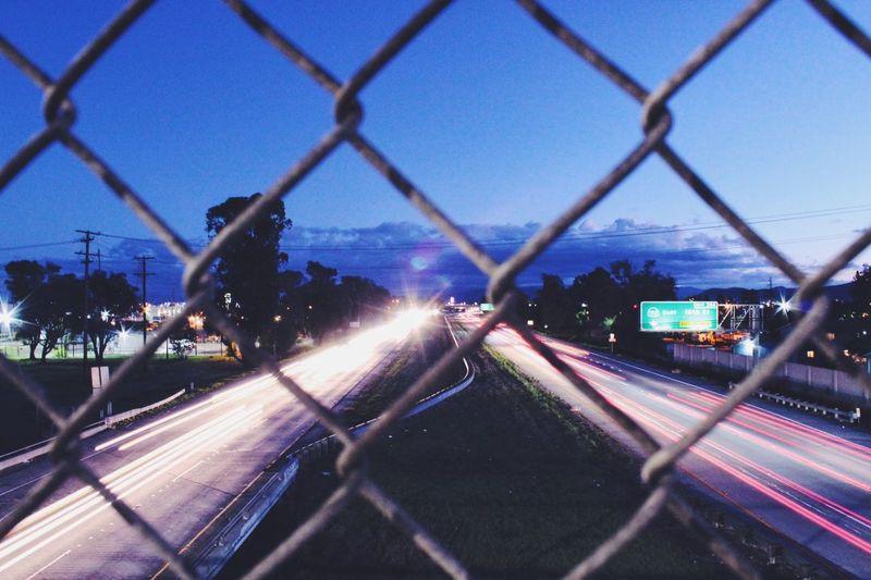 Learn & Shoot: After Dark Long Exposure Traffic Highway Cars Night Lights Drive Taillights Vscocam EyeEm Best Shots EyeEm Best Shots - Landscape EyeEm Best Shots - The Streets Long Exposure Shot Canon