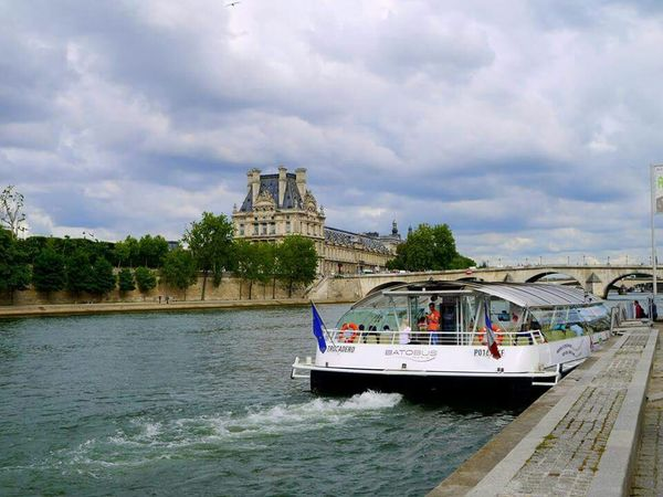 River Cruise River Seine Travel Photography Enjoying Life Holiday And Relaxing