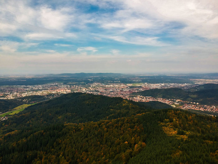 Cityscape EyeEm Best Shots EyeEm Nature Lover Freiburg Nature Nature Photography Tranquility View Beauty In Nature Blackforest Cloud - Sky Day Dronephotography Forest Germany Kybfelsen Landscape Mountain Nature_collection Naturelovers No People Outdoors Scenics Sky Tranquil Scene