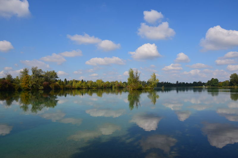 Nikon Beauty In Nature Day Lake Nature No People Outdoors Reflection Scenics Sky Tranquil Scene Tranquility Tree Water Waterfront Weitmannsee