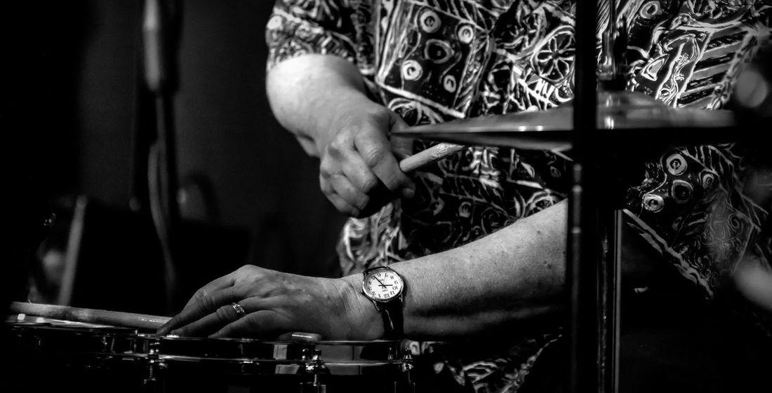 Drummer Hands Jazz Music Narrow Musician Percussion Instrument Soloist Watch