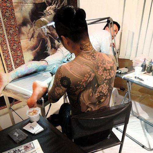 king of tattoo 2013-10-12 Tattoo Yellowblaztattoo Kingoftattoo2013 kot2013