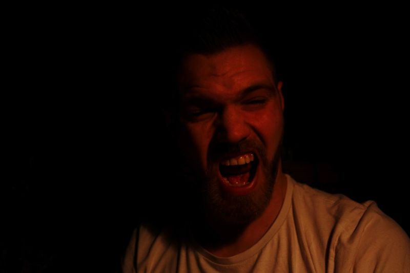 One Man Only Only Men Anger Mouth Open Human Mouth One Person Shouting Adults Only Mid Adult Facial Expression Human Body Part Headshot Screaming Ominous Beard People Studio Shot Portrait Adult Men