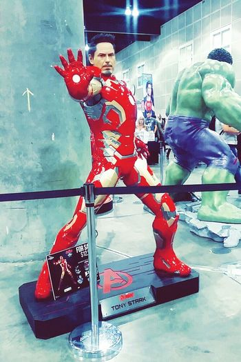 Ironman Comiccon Losangeles Stanlee Convention Center California Taking Photos Comics Movies :)