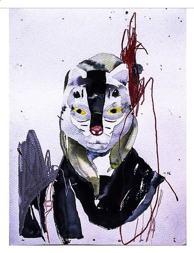 Tiger Mask Photographic Approximation Splinters Of Reality Colage Facial Experiments Forgotten Dreams New Nightmares