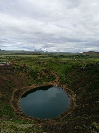 Krater Island Iceland Iceland_collection Crater Lake Lake Nature Nature_collection Mountains Lost In The Landscape