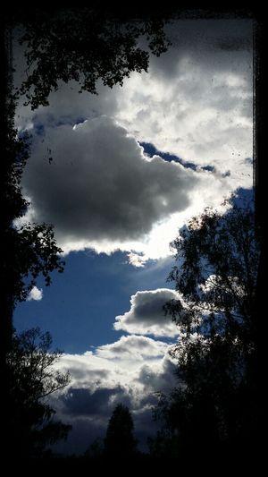 Evening clouds. Beautiful Nature Evening Sky Cloud Porn