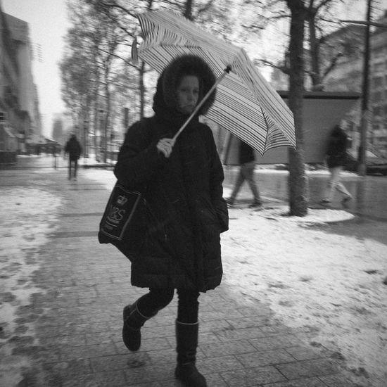 Rainy Days Blackandwhite Monochrome Motion Streetphotography