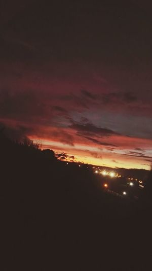 Sunset at San Ramon, Costa Rica