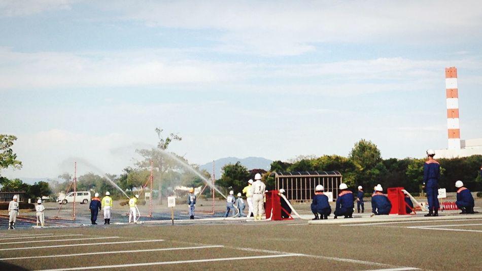 JRA 京都競馬場 Racecourse Fireman …伏見自衛消防隊訓練大会