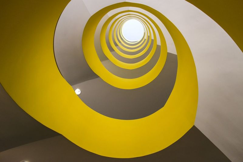 My Best Photo 2014 EyeEm Best Shots Architecture Stairways Urban Geometry Yellow telescope... Looking Into The Future Endlessness Lemon By Motorola The Architect - 2015 EyeEm Awards Capturing Movement Your Design Story Color Palette Paint The Town Yellow Capture Tomorrow