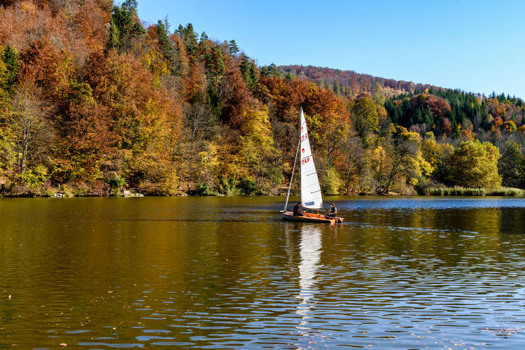Sailboat on the