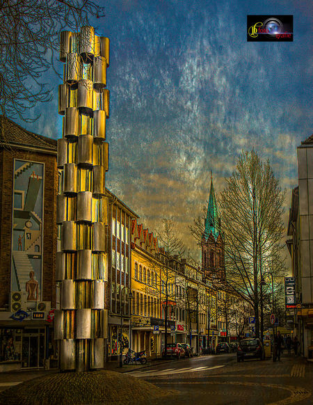January 2018 Architecture Building Exterior Built Structure City Day Hauptstrasse No People Outdoors Sky Streetphotography Sunshine