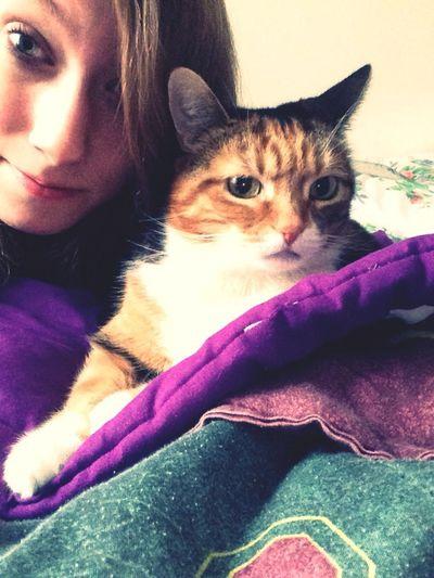 Selfies With Ma Cat Loner Whateva Nigga!