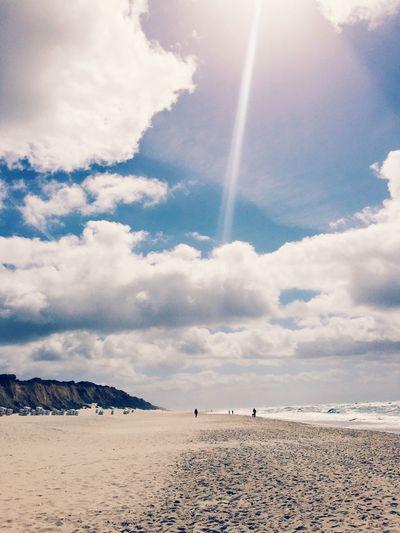 Sylt_collection Sylt Sylt, Germany Beach My Sky Horizon Over Water Sea Northsea Cloud - Sky Sky Sand