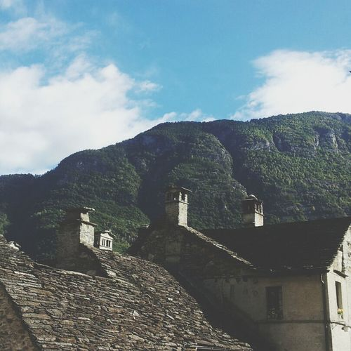 Looking Out Of The Window Tessin And I