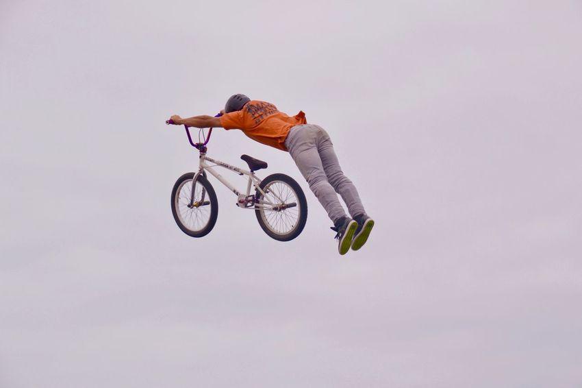 Flying...BMX Bmx  BMX ❤ CanetEnRoussillon EyeEm Best Shots Eyemphotography Hobbyphotography Myview Ilike Market Reviewers' Top Picks Sport