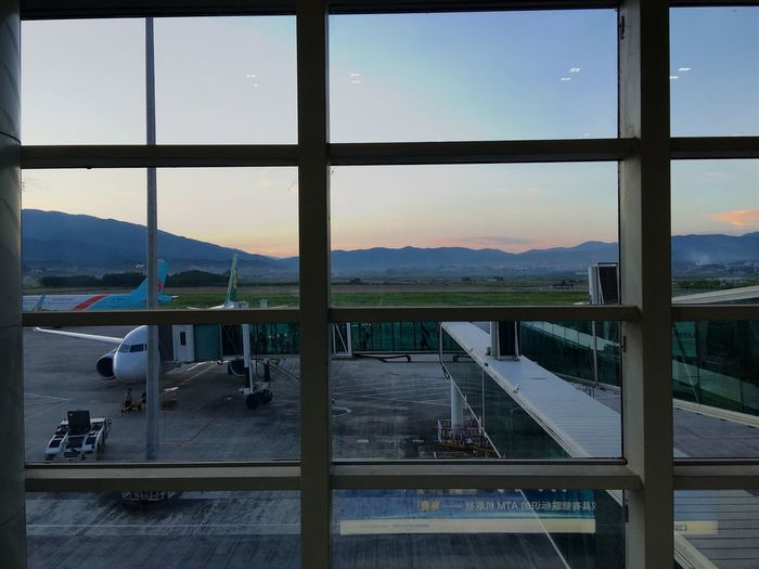 Airport Airplane Evening Travel Photography Check This Out