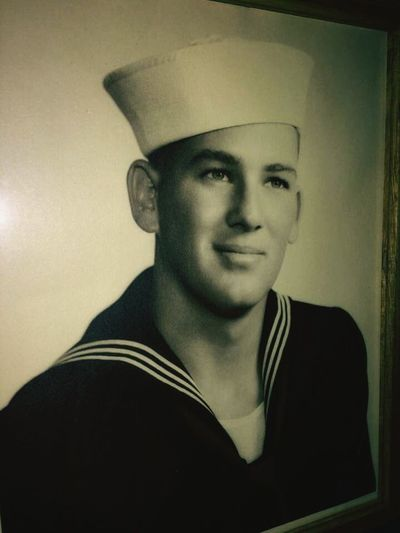 Beautiful ♥ Family❤ Vintage❤ My Grandfather Awesome Man Nothing But Love U.S. Navy Navy Life Hell Of A Man,my Folks Protector