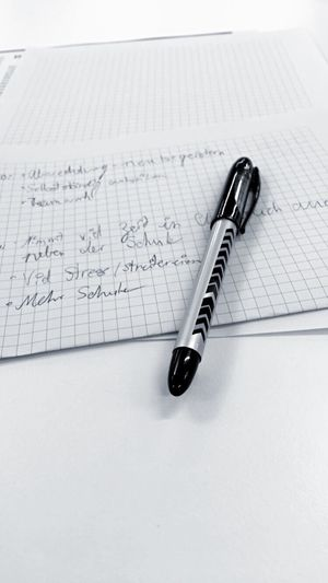 The Color Of Business Open Pen Paper High Angle View Close-up Book Education Connection Page Inspiration