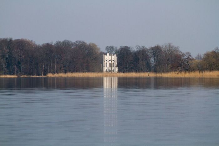 Lake View Pfaueninsel Lake Havel Super Retro
