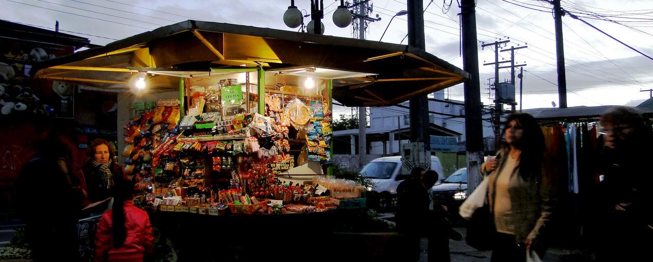Chile Market Market Stall Quilpue Quiosco Retail