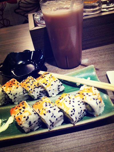Sushi On A Date Eating Jakarta